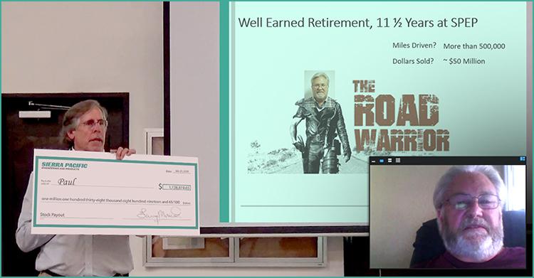 Retiree Paul | A Well-Earned Retirement | SPEP an ESOP Company