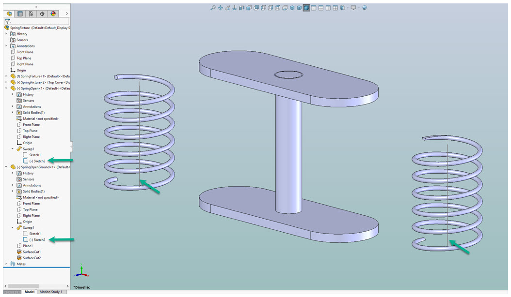 Step 7 – SolidWorks Insert Into Assembly