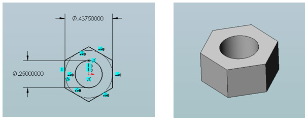 solidworks custom thread modeling step1