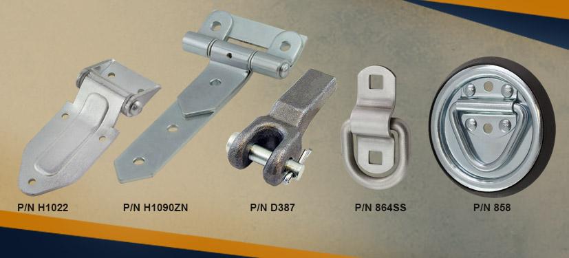 SPEP hardware for tilt trailers